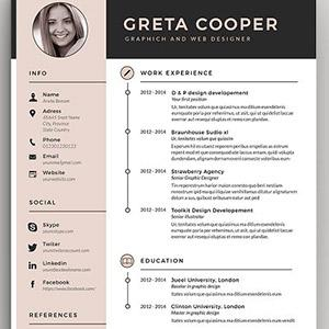 What should be included in a resume format?